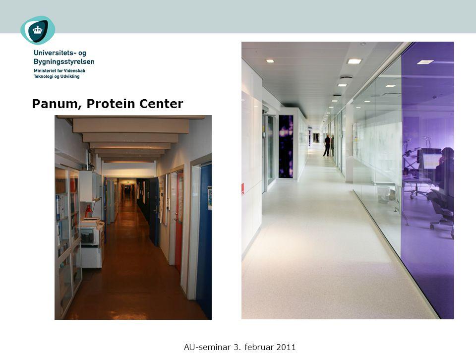 Panum, Protein Center AU-seminar 3. februar 2011