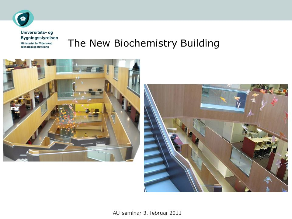 The New Biochemistry Building