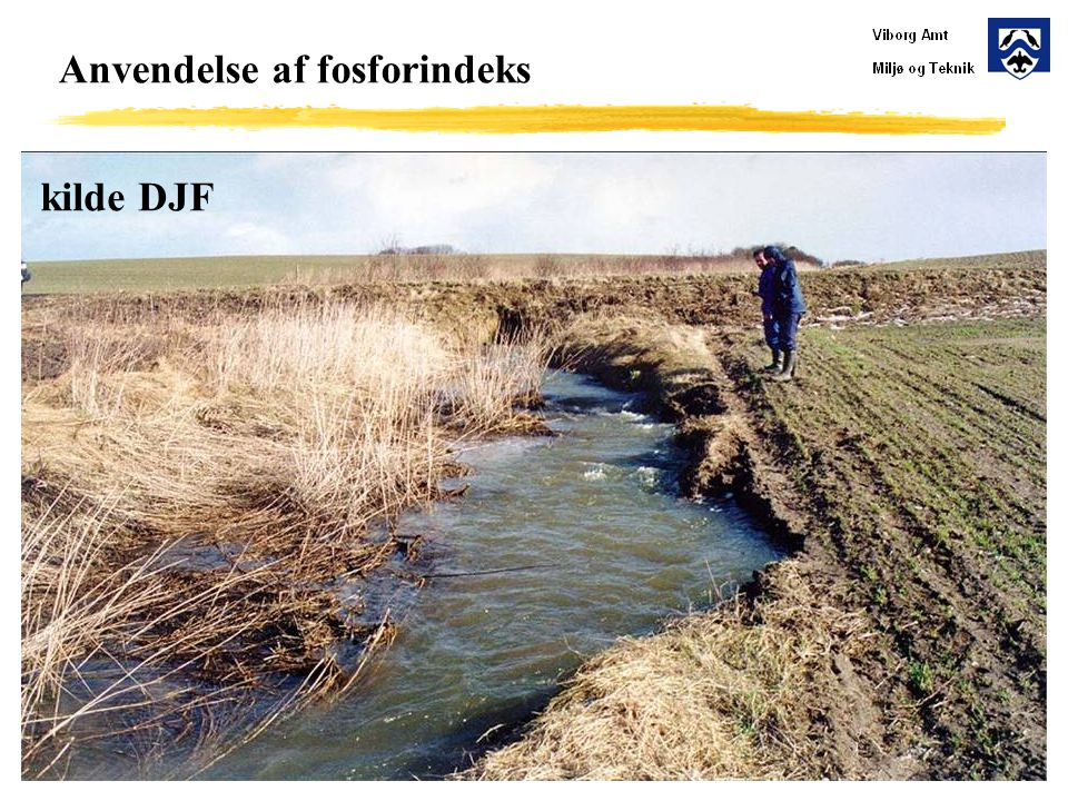 Anvendelse af fosforindeks kilde DJF