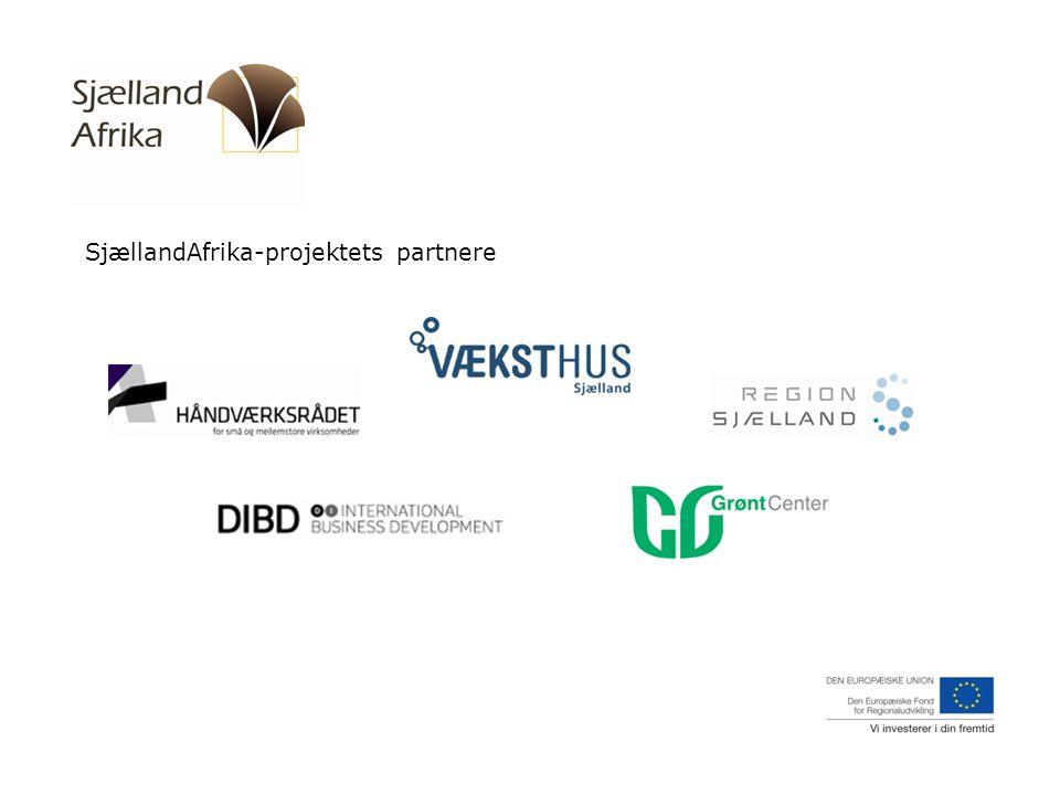 SjællandAfrika-projektets partnere