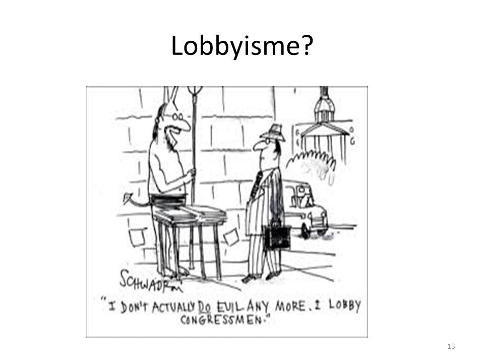 Lobbyisme 13
