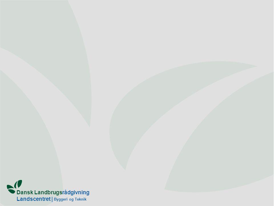 Dansk Landbrugsrådgivning Landscentret | Byggeri og Teknik
