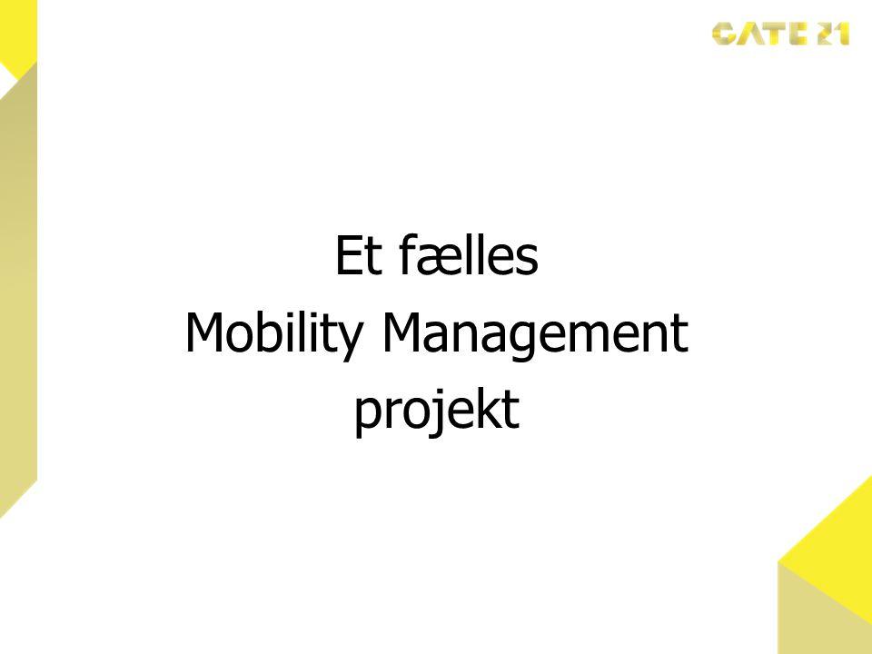 Et fælles Mobility Management projekt
