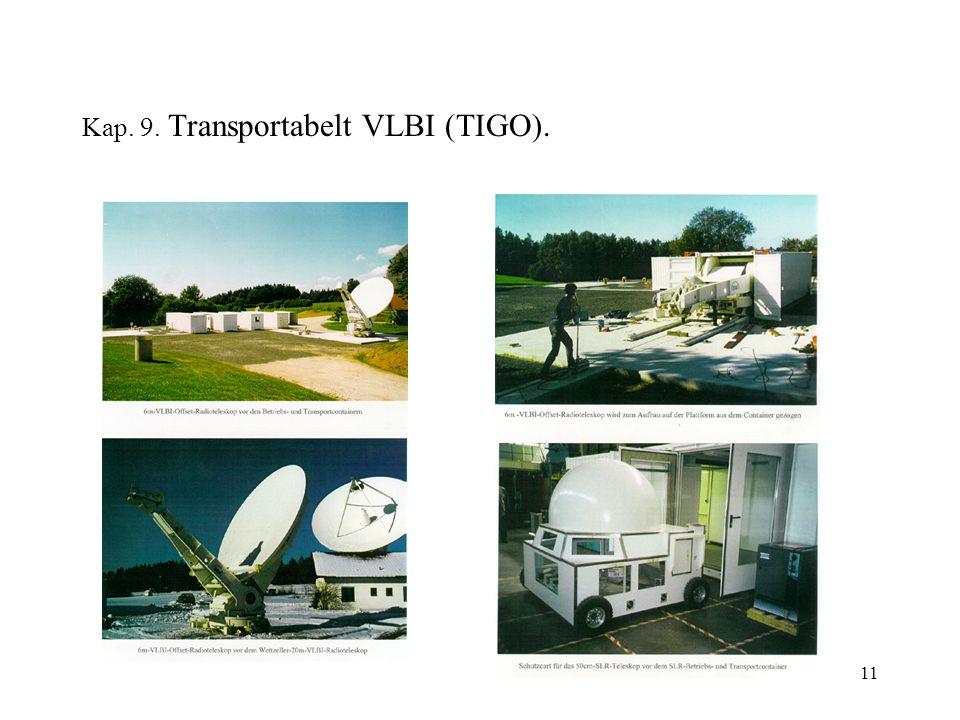 11 Kap. 9. Transportabelt VLBI (TIGO).