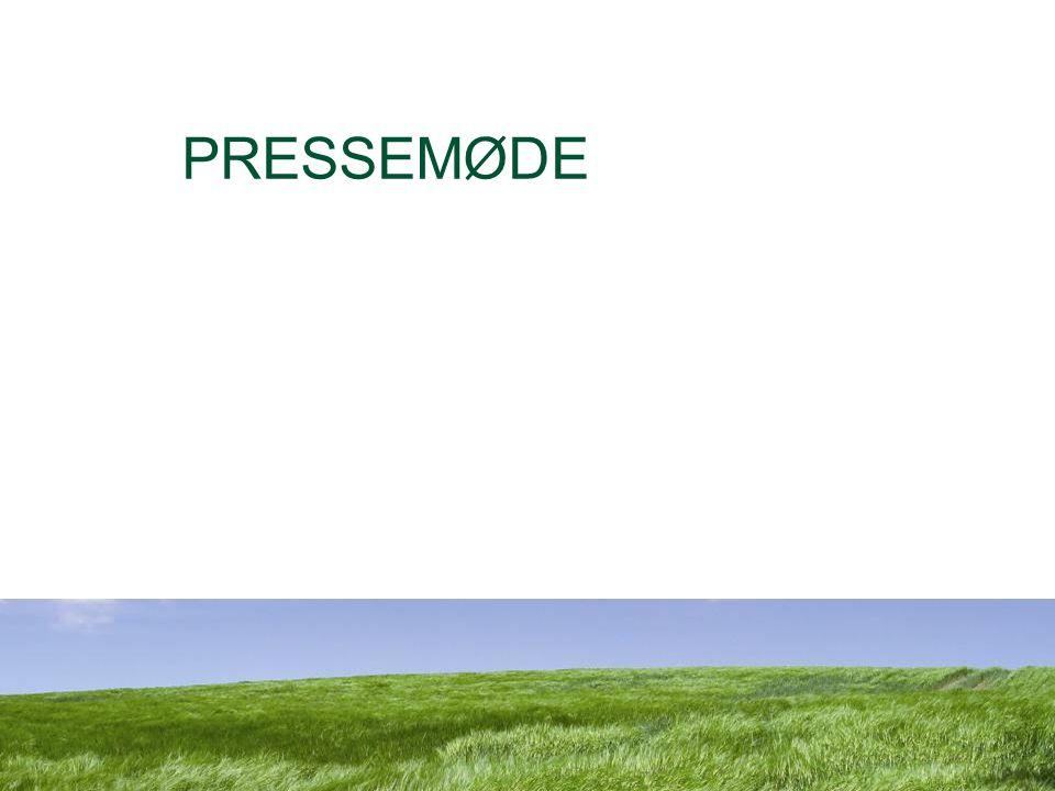 Dansk Landbrugsrådgivning Landscentret PRESSEMØDE