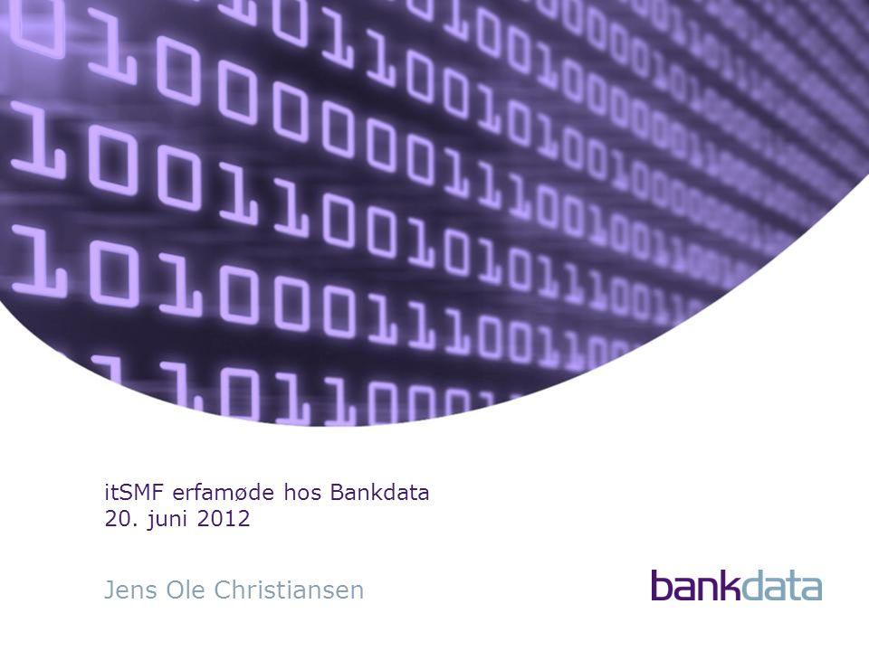 Jens Ole Christiansen itSMF erfamøde hos Bankdata 20. juni 2012