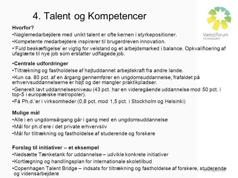 www.regionh.dk 4. Talent og Kompetencer Hvorfor.