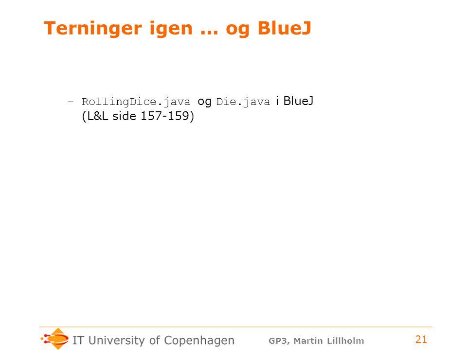 GP3, Martin Lillholm 21 Terninger igen...