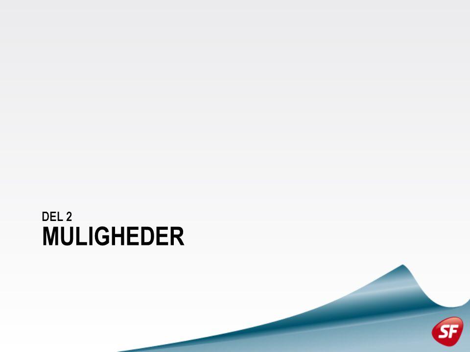 MULIGHEDER DEL 2