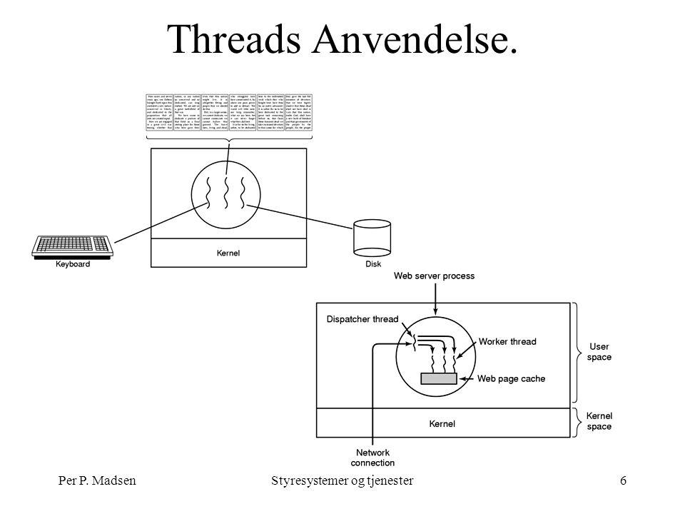 Per P. MadsenStyresystemer og tjenester6 Threads Anvendelse.
