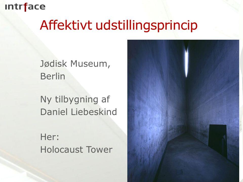Jødisk Museum, Berlin Ny tilbygning af Daniel Liebeskind Her: Holocaust Tower