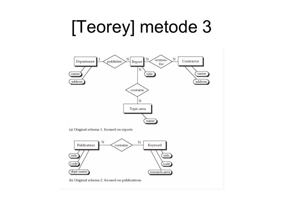 [Teorey] metode 3