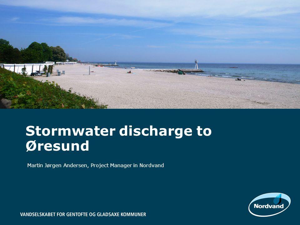 Martin Jørgen Andersen, Project Manager in Nordvand Stormwater discharge to Øresund