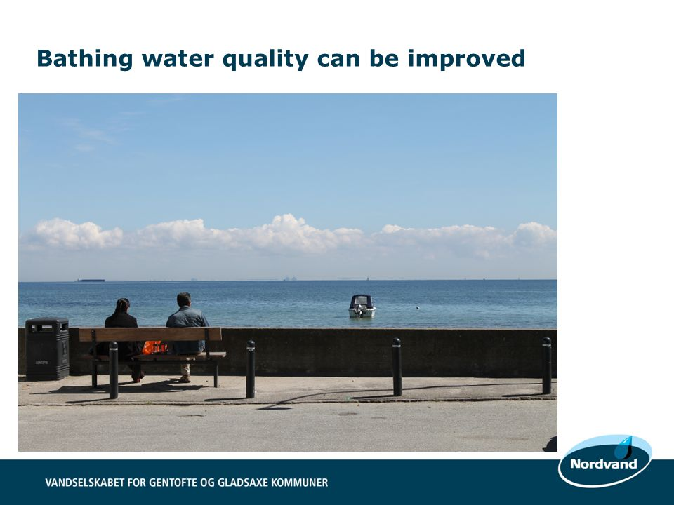 Bathing water quality can be improved