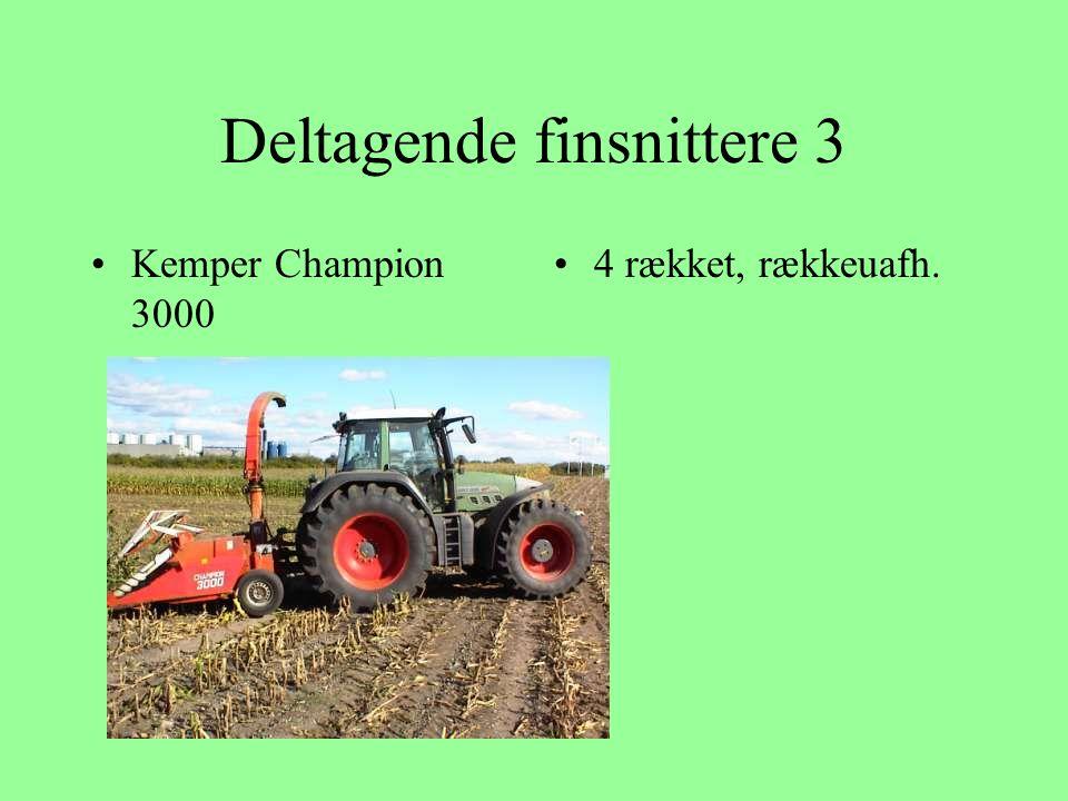 Deltagende finsnittere 3 Kemper Champion 3000 4 rækket, rækkeuafh.