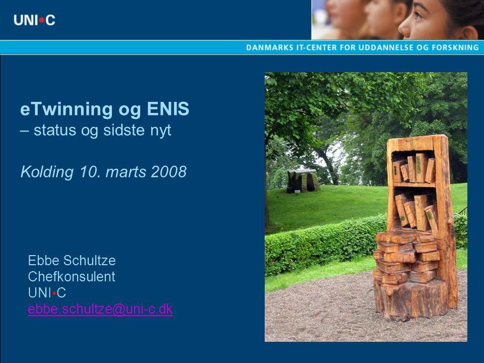 eTwinning og ENIS – status og sidste nyt Kolding 10.
