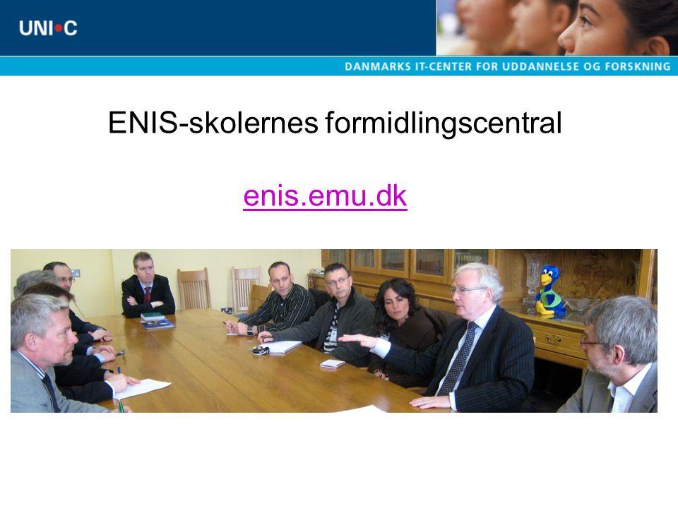 ENIS-skolernes formidlingscentral enis.emu.dk