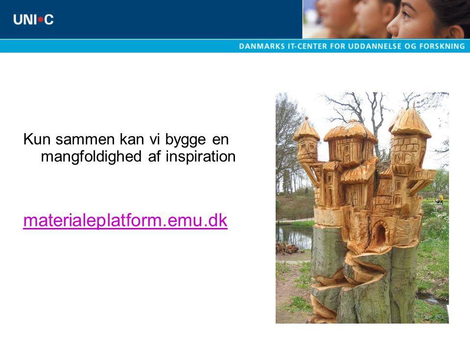 Kun sammen kan vi bygge en mangfoldighed af inspiration materialeplatform.emu.dk