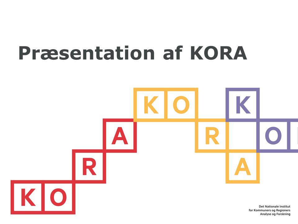 Præsentation af KORA