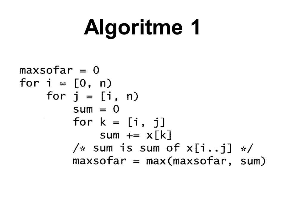 Algoritme 1