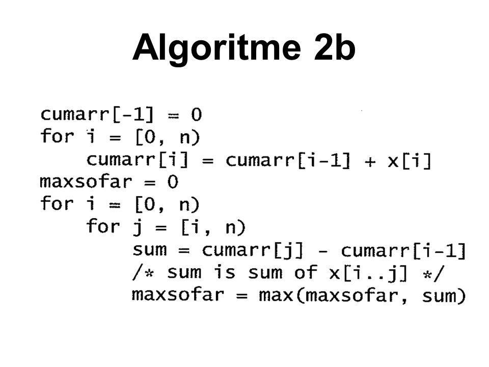 Algoritme 2b