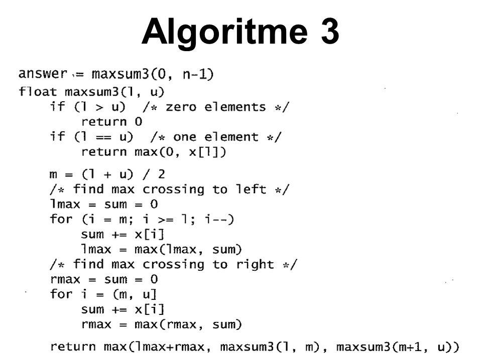 Algoritme 3