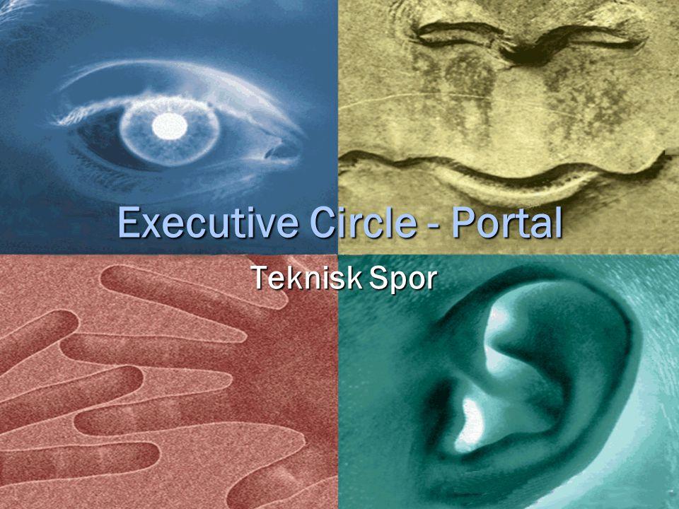 Executive Circle - Portal Teknisk Spor