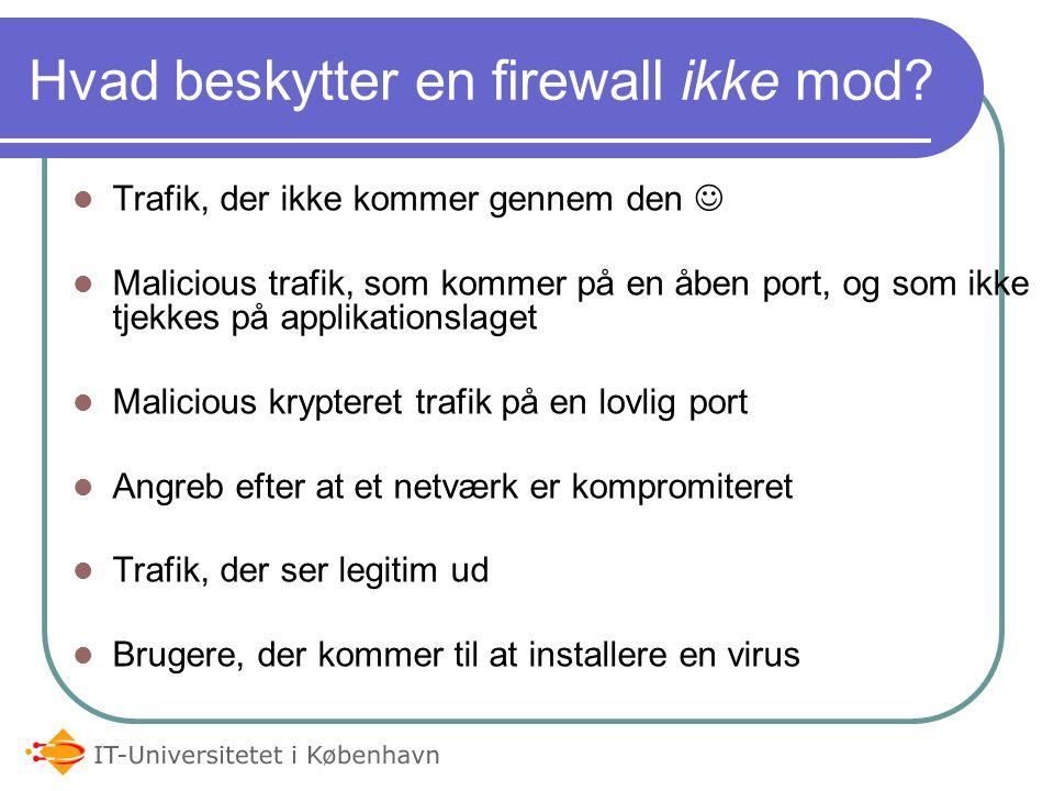 Internet LAN Firewall Firewalls – Normal firewall design