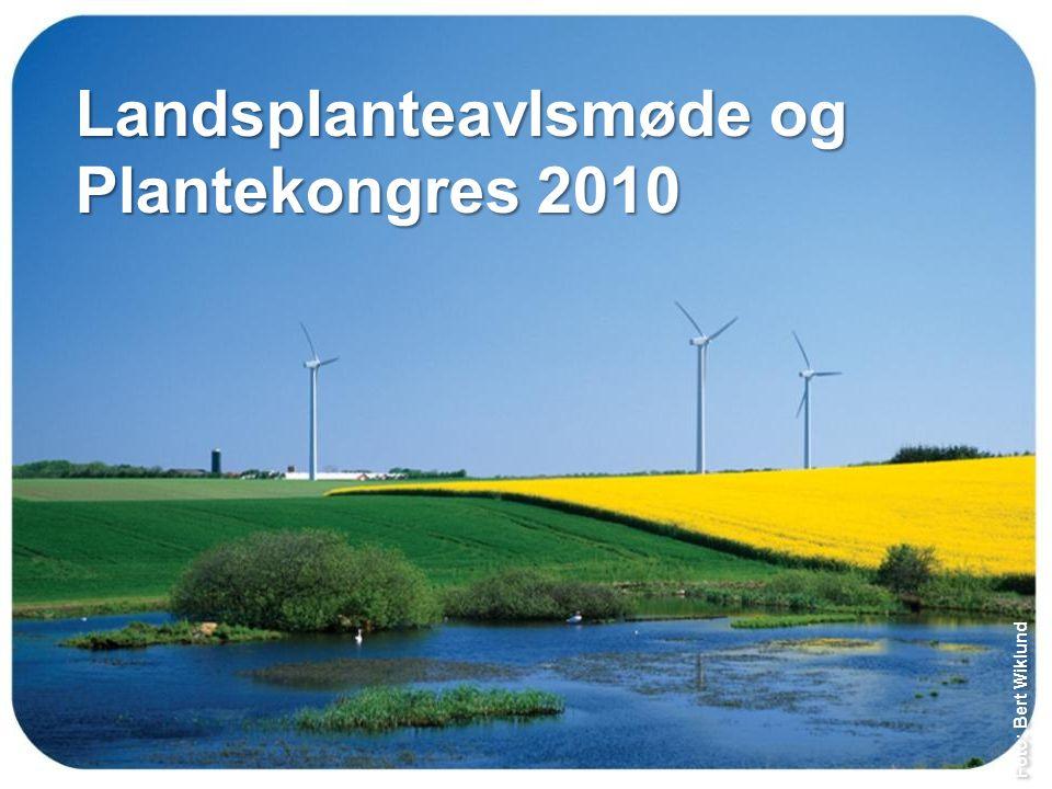 Landsplanteavlsmøde og Plantekongres 2010 Foto: Bert Wiklund