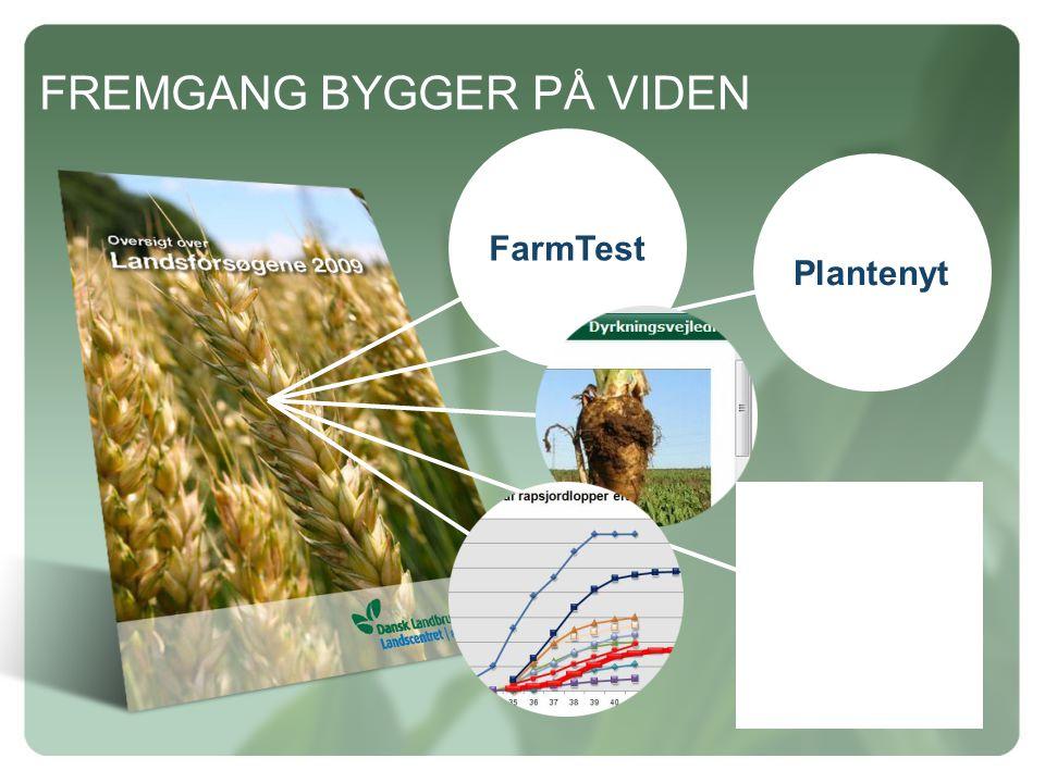 Plantenyt FREMGANG BYGGER PÅ VIDEN FarmTest