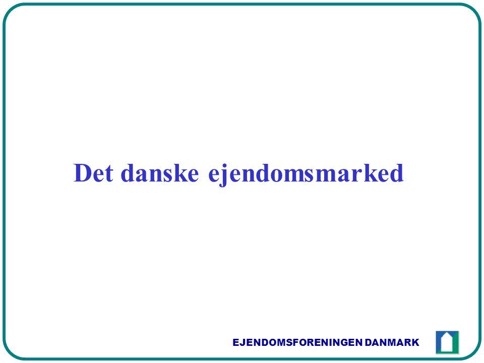 EJENDOMSFORENINGEN DANMARK Det danske ejendomsmarked