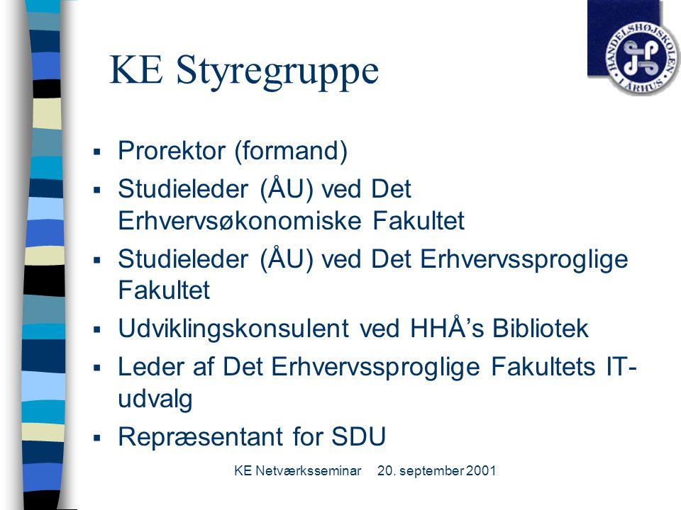 KE Netværksseminar20.