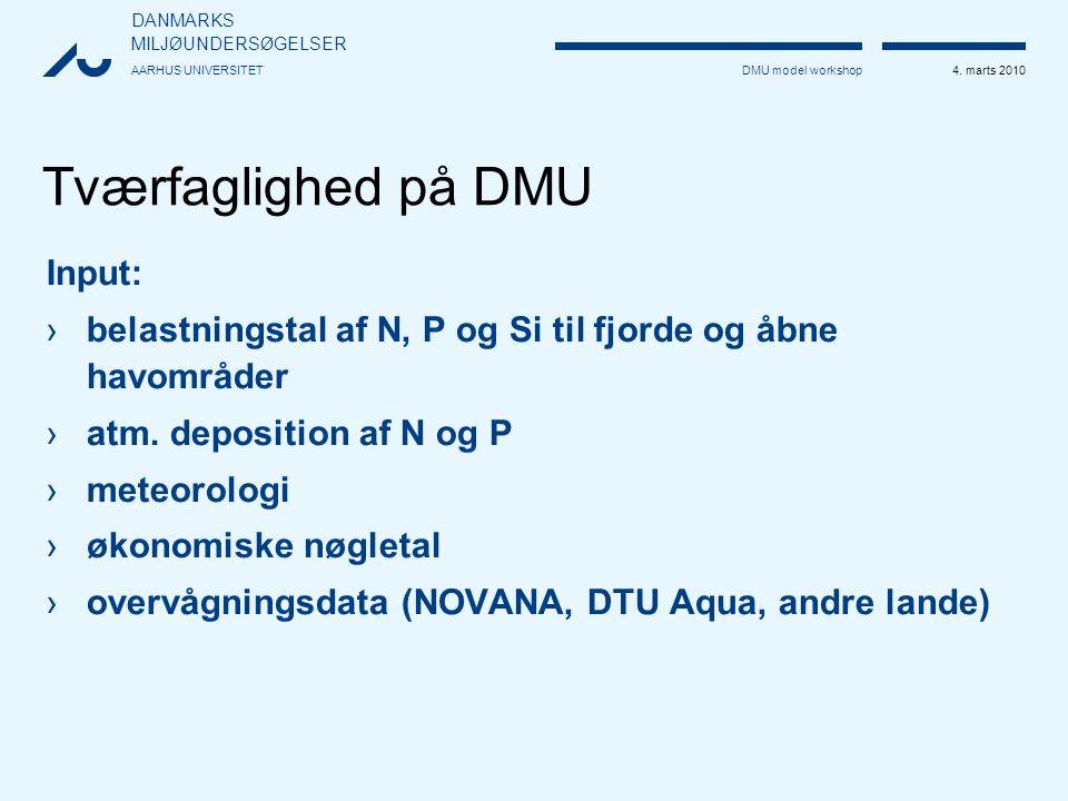 DANMARKS MILJØUNDERSØGELSER AARHUS UNIVERSITET 4.