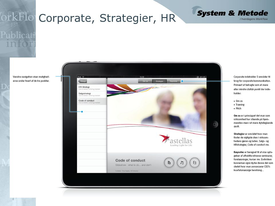 Corporate, Strategier, HR