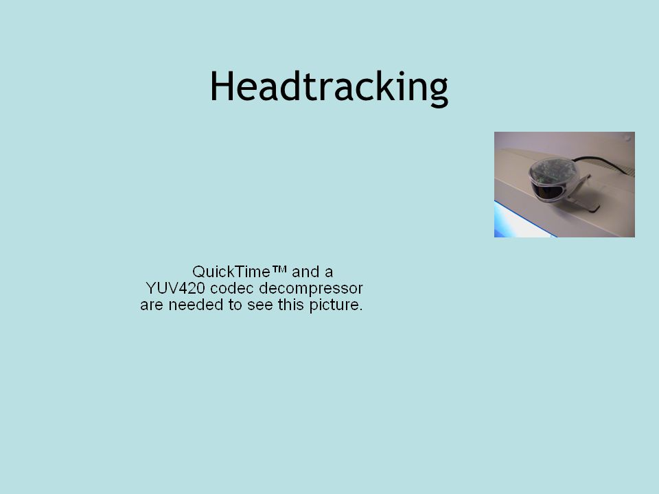 Headtracking