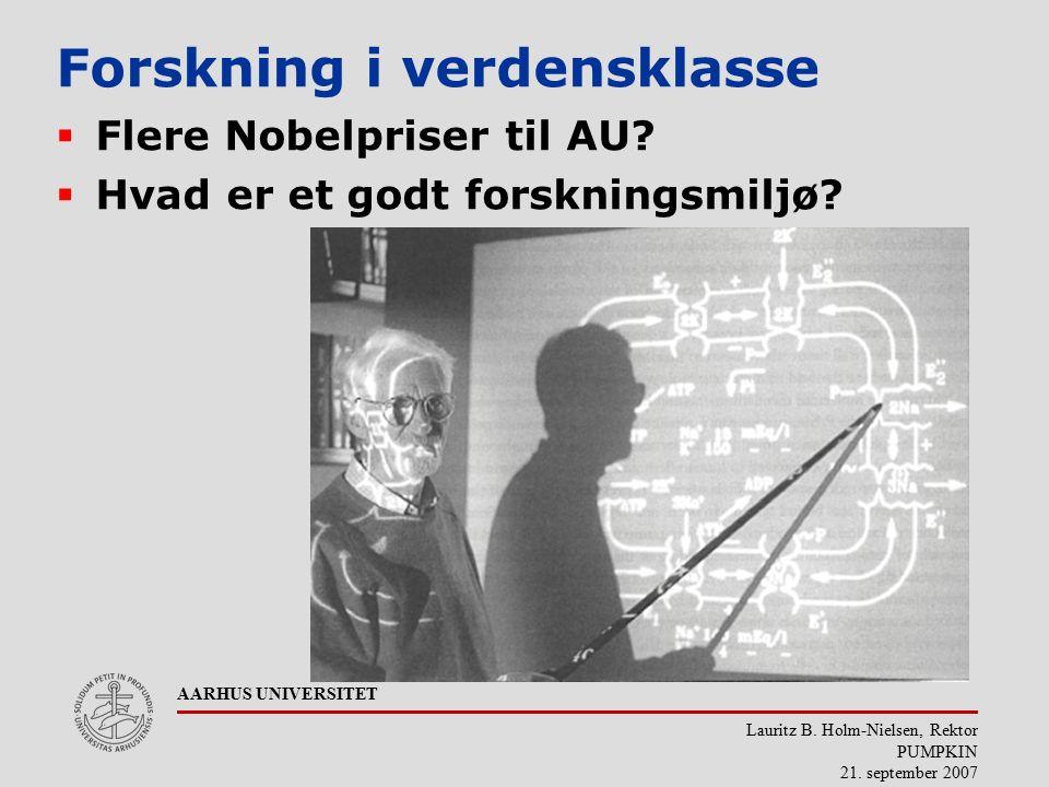 Lauritz B. Holm-Nielsen, Rektor PUMPKIN 21.