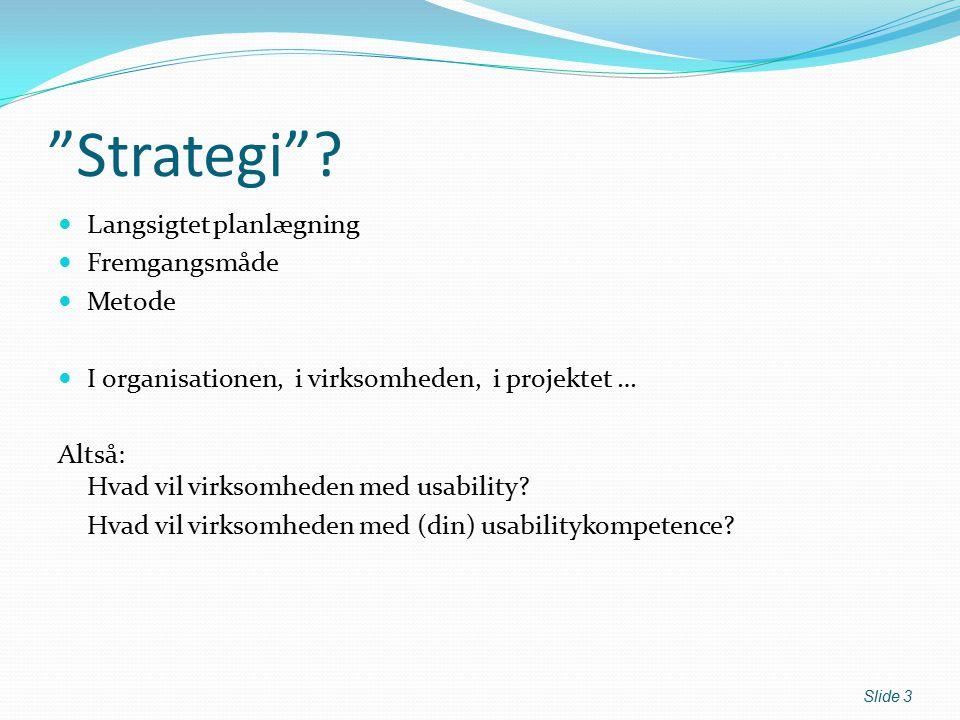 Strategi .