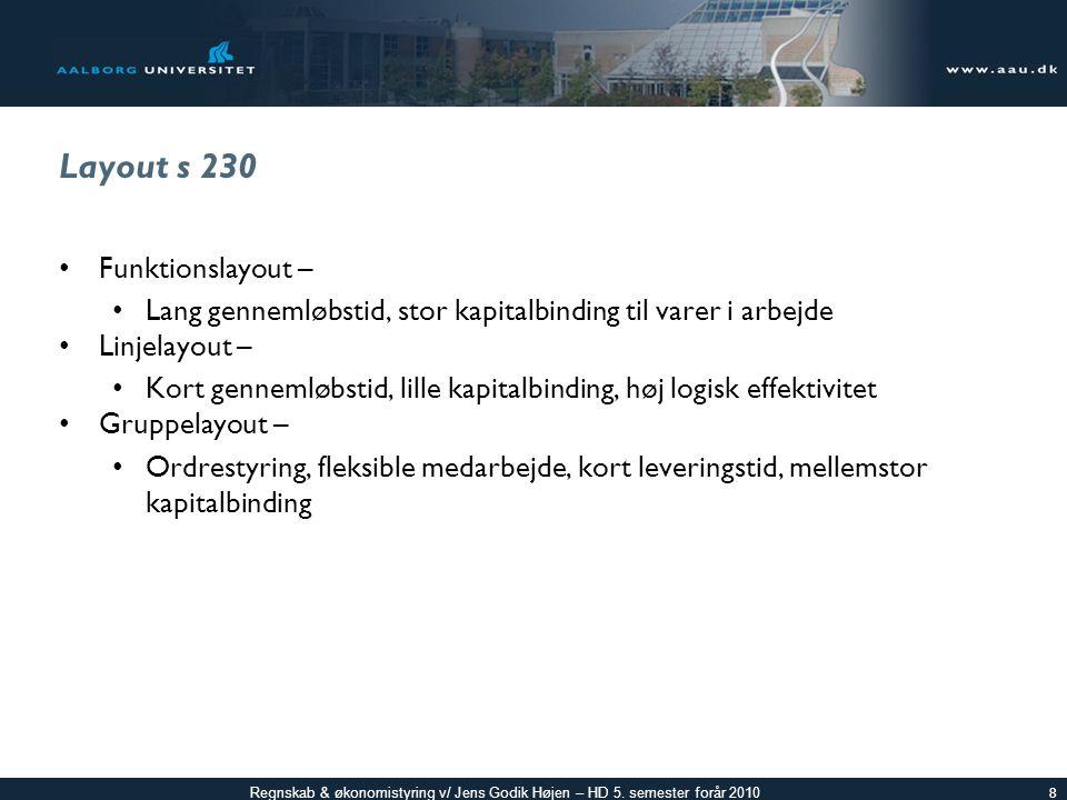 Regnskab & økonomistyring v/ Jens Godik Højen – HD 5.