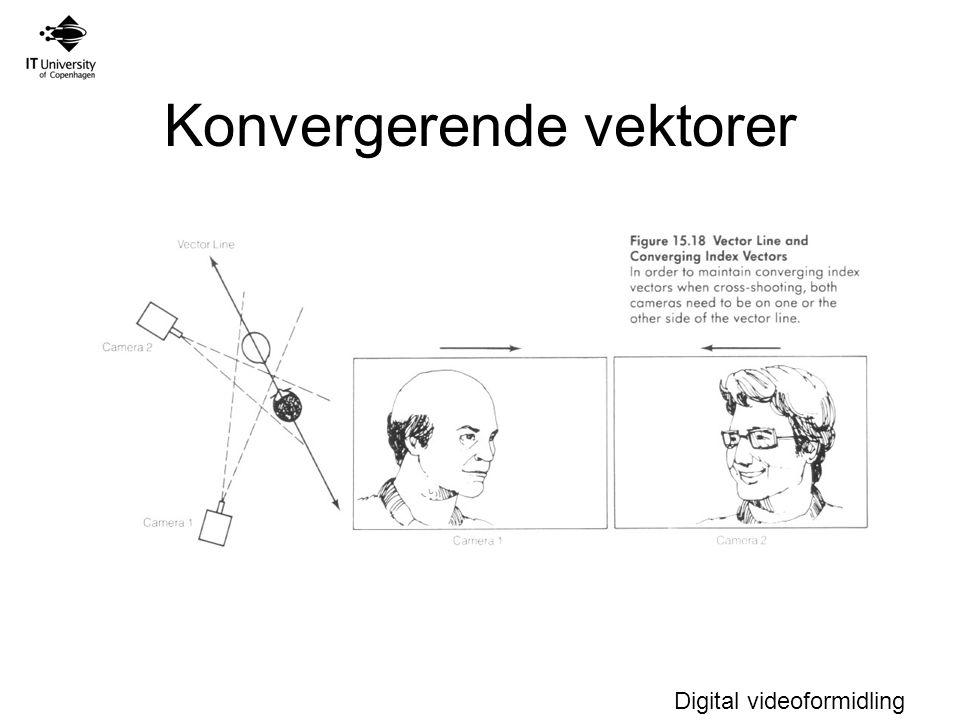Digital videoformidling Konvergerende vektorer