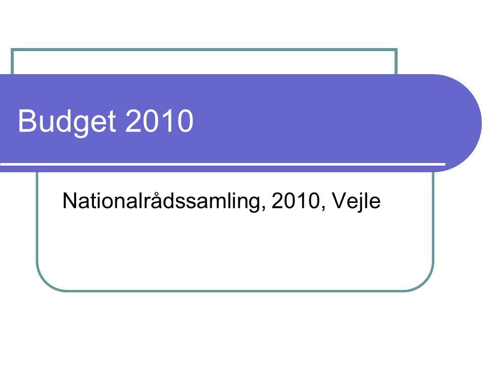 Budget 2010 Nationalrådssamling, 2010, Vejle