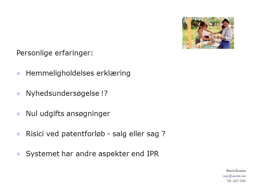 Personlige erfaringer: Hemmeligholdelses erklæring Nyhedsundersøgelse !.