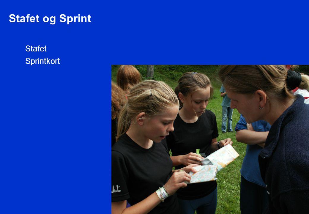 Stafet og Sprint Stafet Sprintkort