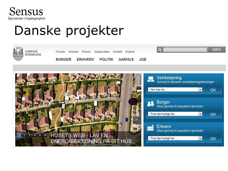 Danske projekter