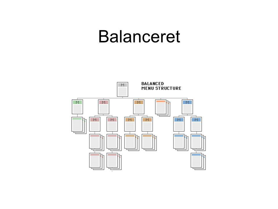 Balanceret