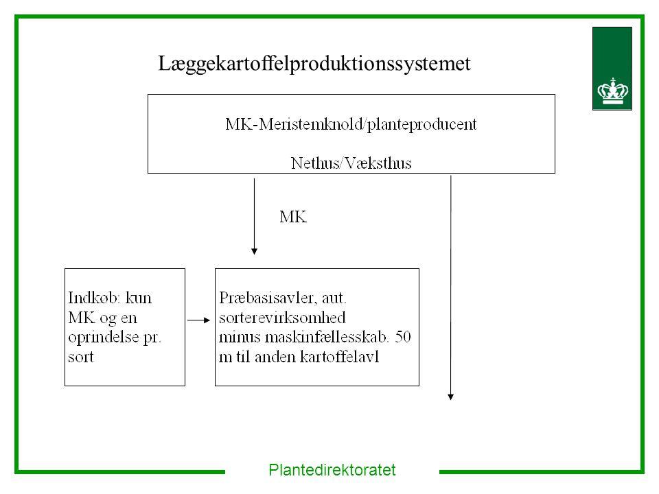 Plantedirektoratet Læggekartoffelproduktionssystemet