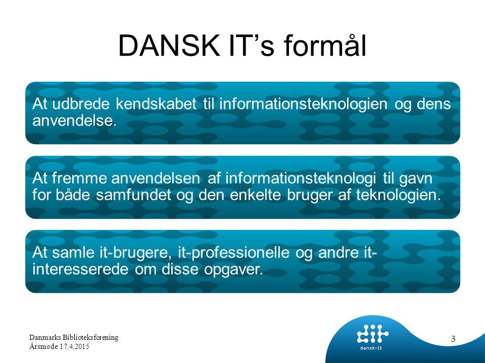 At udbrede kendskabet til informationsteknologien og dens anvendelse.