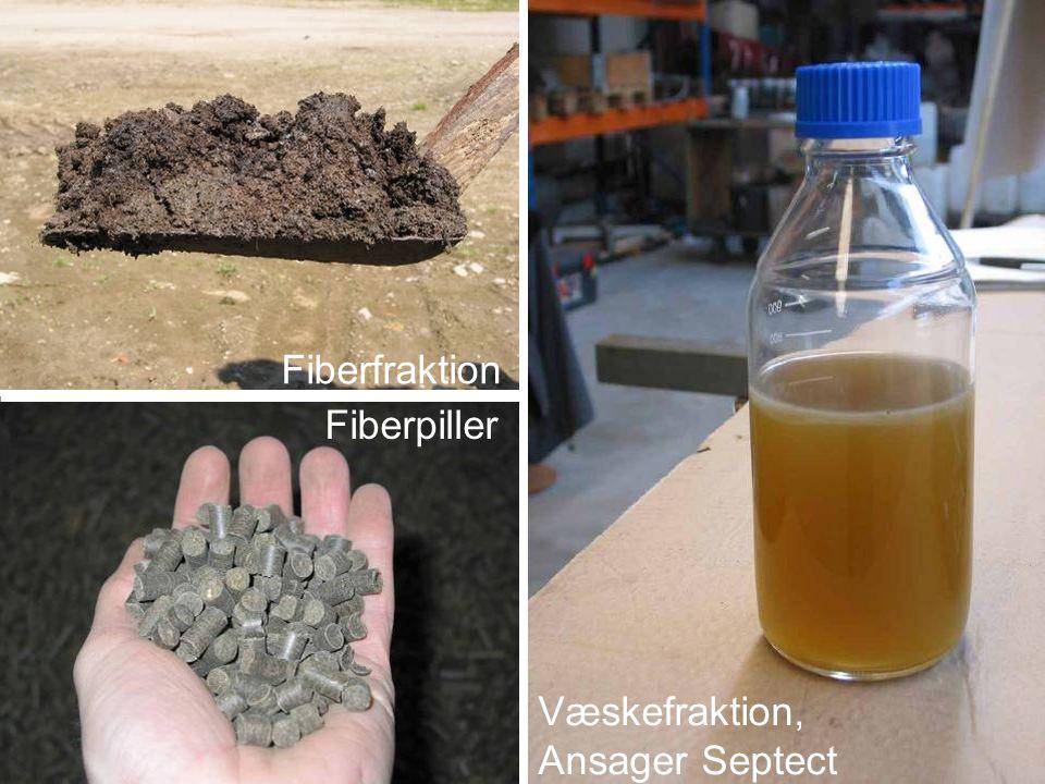 Billeder af produkter Green Farm EnergyFunki Manura DekantercentrifugeAnsager Septec Fiberfraktion Fiberpiller Væskefraktion, Ansager Septect