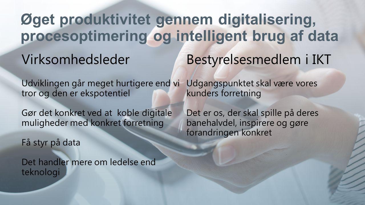 © EG A/S14 Virksomhedsleder Udviklingen går meget hurtigere end vi tror og den er ekspotentiel Gør det konkret ved at koble digitale muligheder med konkret forretning Få styr på data Det handler mere om ledelse end teknologi Bestyrelsesmedlem i IKT Udgangspunktet skal være vores kunders forretning Det er os, der skal spille på deres banehalvdel, inspirere og gøre forandringen konkret Øget produktivitet gennem digitalisering, procesoptimering og intelligent brug af data