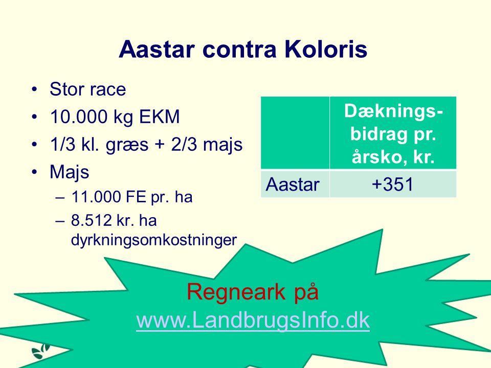 Aastar contra Koloris Stor race 10.000 kg EKM 1/3 kl.