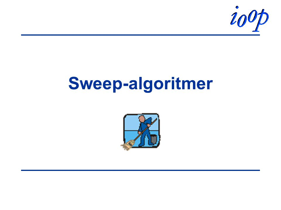 Sweep-algoritmer
